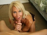 Erica Lauren jacking off a pecker