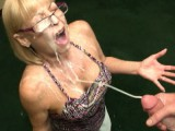 Granny Sucks Weenie and Receives A Biggest Facial