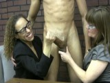 Size Queens Jerk at the Office